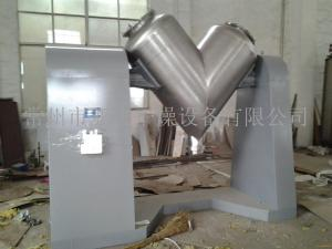 细粉混合高效混合机 全不锈钢板材制作V型混