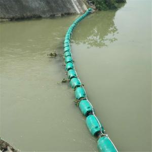 滇池水草拦截浮体 内湖挡渣围栏塑料浮漂价格
