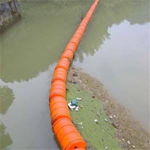 海洋警戒护栏塑料浮筒供应批发