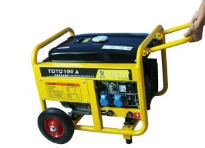 中频250A汽油发电机带电焊机价格