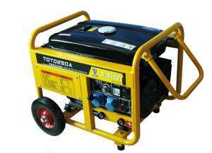 TOTO250A,手推式250A汽油发电电焊机