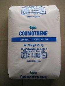 LDPE 透明袋子新加坡聚烯烃 F410-1衣服包装