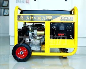 大泽6kw汽油发电机