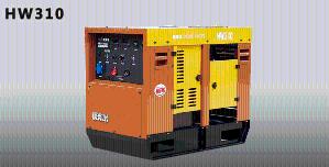 电王HW310汽油发电焊机 发电电焊机