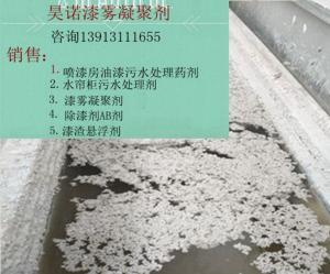 水性漆废水处理AB剂的选择