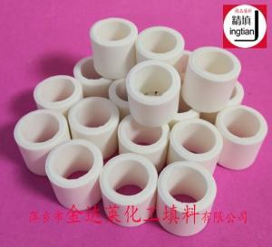刚玉拉西环填料 90%高铝拉西环 95%氧化铝 拉西环 92%铝拉西环填料