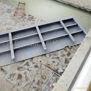 山东底横轴液压翻板闸门指导安装