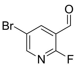 2-氟-5-溴吡啶-3-甲醛 CAS:875781-15-0