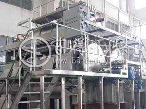 α淀粉滚筒刮板干燥机  高效变性淀粉干燥机