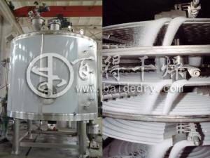 闭式循环盘式干燥机 有机溶剂盘式干燥机 防爆盘式干燥机