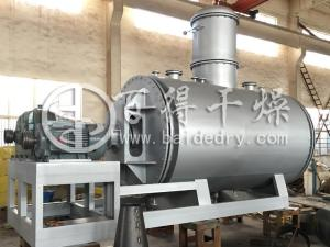 真空耙式干燥机 高效溶剂回收耙式干燥机