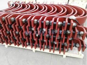 A9雙排螺栓管夾規格