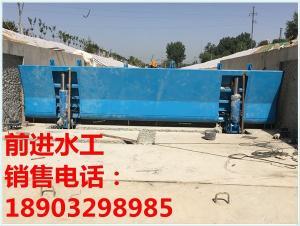 液压合页坝生产厂家 合页活动坝包安装