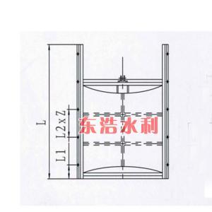 铸铁闸门1.5×2米铸铁闸门异型定做价格