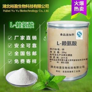 食品级氨基酸华阳L-赖氨酸碱厂家直销 格