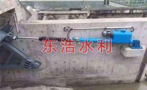 液压升降坝 底轴驱动翻板坝图片价格