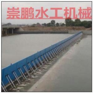 液压翻版门规格,堤坝低横轴液压翻板闸门