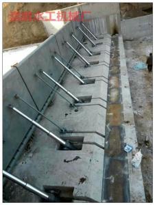 河北碳钢翻版闸门/电动液压翻版闸门操作简便