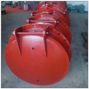 环保型河道专用铸铁闸门,800圆形河道铸铁拍门安装方法
