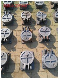 河道专用铸铁闸门,性价比高的圆形双开式拍门