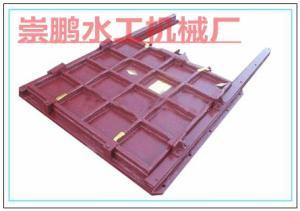 铸铁闸门制作方法