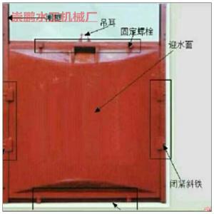 铸铁闸门安装流程