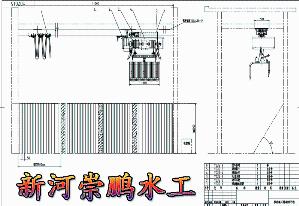 崇鹏水工供应|抓斗清污机&移动式抓斗清污机价格厂家