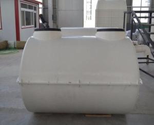 农村厕改塑料化粪池