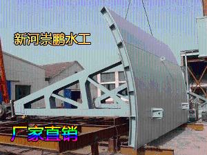 潜孔式弧形闸门-钢闸门-钢闸门定制厂家