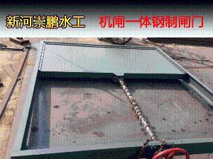 800机闸一体式钢闸门