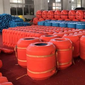 水上穿绳组合塑料浮体环保挡渣围栏PE拦污栅施工方案介绍