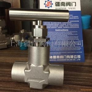 J61H-160P针型阀 高压不锈钢焊接阀门DN10 DN15