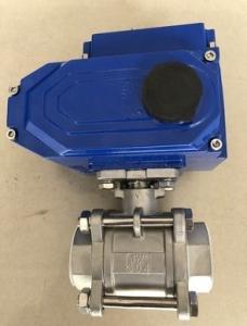 Q911F-16P 電動絲扣球閥 不銹鋼電動絲扣球閥 電動螺紋球閥