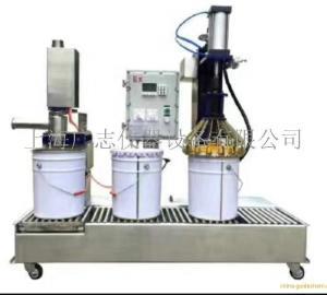 白乳胶灌装设备,称重式白乳胶灌装机